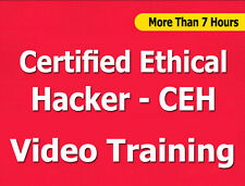 Certified Ethical Hacker CEH video training tutorial CBT - 7+ Hours