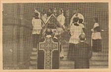 PARIS CONSECRATION EGLISE DE LA TRINITE PAR CARDINAL AMETTE IMAGE 1913