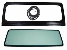 New Windshield Frame & Glass w/3 Pcs. Seal Kit, For Jeep Wrangler YJ, 1987-1995