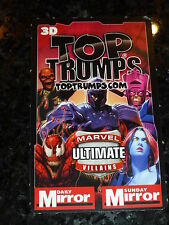"LOKI - Daily Mirror TOP TRUMPS  ""trading Card"" - Marvel Comics"