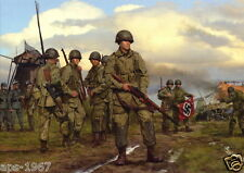 Easy Company 101st Airborne Easy company D-Day large poster