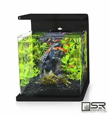 SALE!  Desk Top All Glass 4 Gal Nano Aquarium w Dimmable LED Lighting & Filter