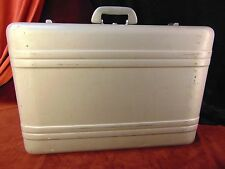 Vintage HALLIBURTON ALUMINUM SUITCASE Luggage ZERO Travel Case HEAVY DUTY!