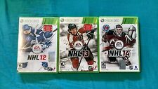 Microsoft Xbox 360 NHL 12-14 video games