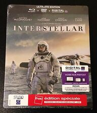 INTERSTELLAR Ultimate Edition Blu-Ray SteelBook FNAC Special Edition France Rare