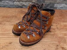 Vintage Hiking Boots Mountain Boots 70's Made In USA Vibram Sole Women's Size 6