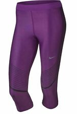 BNWT Women's Nike Power Speed Dri-Fit Capri Leggings Sz S 801694 556