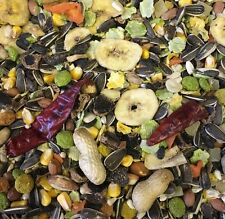 Parrot Food 1KG Paradise Fruit Nut Pinapple Chillies Pea Mix Parakeet Cockatiel