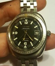 Very rare men's Longines 5 star Admiral Divers watch Keeping time, Un Restored