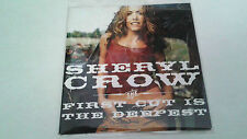 """SHERYL CROW """"THE FIRST CUT IS THE DEEPEST"""" CD SINGLE 2 TRACKS"""