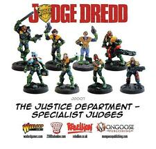 Warlord Games The Justice Department Specialists 28mm Judge Dredd