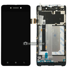 5'' Black Lenovo Sisley S90 LCD Display Touch Screen Digitizer Assembly+Frame