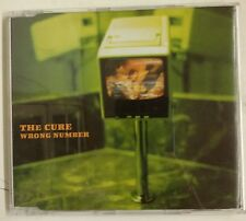The Cure  Wrong Number CD-Single UK promo 1997