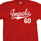 Impala 60 Script Tail T-Shirt - 1960 Lowrider Classic Tee - All Sizes & Colors