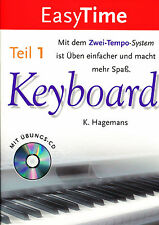 Hagemans - EasyTime Keyboard Teil 1 mit Übungs-CD
