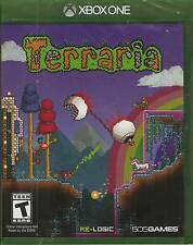 Terraria Microsoft Xbox One 2014 Brand New Factory Sealed Game in Case