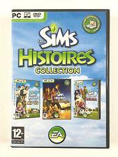 Jeu Les Sims - Histoires Collection (de vie + de naufragés + d'animaux) Sur PC