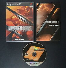 ARMORED CORE 3 PlayStation 2 NTSC JAPAN ❀ SHOOTER MECH FROM SOFTWARE PS2 アーマード・コ