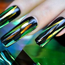 Hight Light Triangle Nail Foil DIY Holographic Nail Art Decoration Pieces 673