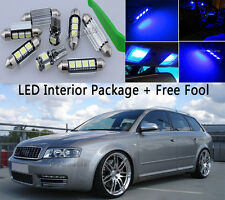 Canbus Fit Benz S class W220 05 Interior Package Kit Tool LED Light Xenon Blue