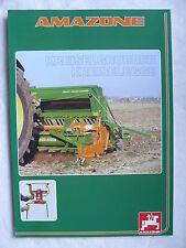 0233) AMAZONE - Kreiselgrubber & Kreiselegge - Prospekt Brochure 08.1999