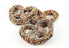SweetGourmet Asher's Milk Chocolate Pretzels w/Multi Seeds-1LB FREE SHIPPING!