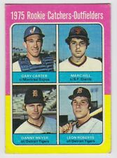 1975 TOPPS GARY CARTER RC ROOKIE #620 EXCELLENT CONDITION