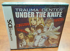 Trauma Center: Under the Knife NINTENDO DS 3DS DSI FACTORY SEALED