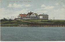 1910 Stone Haven Hotel Cape Porpoise Colorful PC Made in Germany LE Fletcher