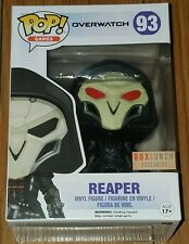 Funko Pop Games #89 Shadow Step Reaper Overwatch Box Lunch Exclusive Damaged