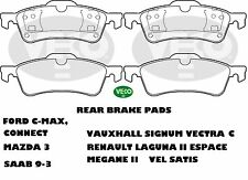 ALLIED NIPPON REAR BRAKE PADS VA1033 Fit Renault Vauxhall Ford Saab Mazda Nissan
