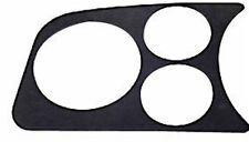 VW Bug Baja Beetle Type 1 dash panel 3 gauge hole 2-1/16, 3-1/8 Black,14-1003