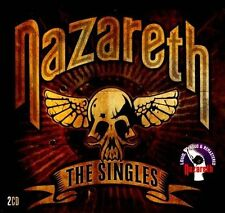 The Singles [Digipak] by Nazareth (CD, Feb-2012, 2 Discs, Salvo)