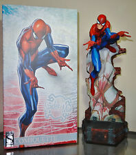 Sideshow Exclusive Spiderman Comiquette Statue J. Scott Campbell SS EX Marvel