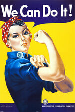 We Can Do It! (Rosie the Riveter) Mini Poster By J. Howard Miller - 16x20