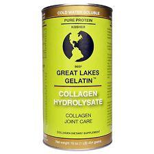 Great Lakes - Beef Gelatin Collagen Hydrolysate - KOSHER 16 oz - FREE SHIPPING