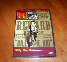BILLY THE KID Outlaw Gunfighter Frontier Old West Outlaw History Channel DVD NEW
