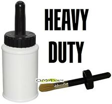 8oz HD Dispenser with Brush Applicator for Barge Rubber Contact Cement Glues NEW
