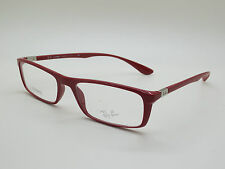 NEW Authentic Ray Ban RB 7035 5435 LITEFORCE Red 57mm RX Eyeglasses