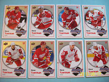 "2010-11 Upperdeck Complete Base Set Steve Yzerman ""Hockey Heroes"" HH1-HH8"