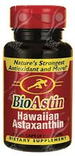 Nutrex, BioAstin, Natural Hawaiian Astaxanthin - 4mg x60 Gel caps
