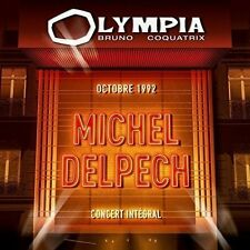 "CD ""DELPECH MICHEL - Olympia 1992""   NEUF SOUS BLISTER"