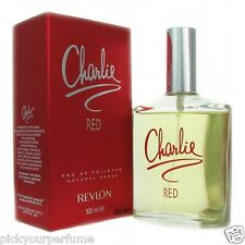 WOMEN Revlon Charlie Red   3.4 oz Eau De Toilette Spray for Women