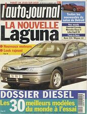 L'AUTO JOURNAL 1997 n° 455 Renault Laguna, Corvette, Mercedes Classe V, Lotus