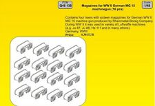 CMK 1/48 German Wwii Mg15 Revistas # q48138