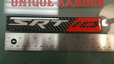 REAL Carbon Fiber SRT-10 Badge Dodge Viper Ram Srt10 1x Emblem Srt 10 RT