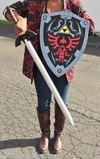Zelda Master Sword and Shield Foam Combo Deal LARP SET  Cosplay Costume