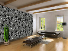 METAL LIQUID ART SILVER TEXTURES Photo Wallpaper Wall Mural 335x236 cm
