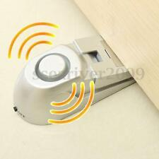 Home Security Safety Door Stop Stopper Blocking Wedge Warning Alarm Alert System