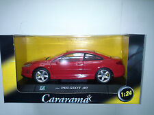 PEUGEOT 407 1:24 CARARAMA. NEW IN BOX.